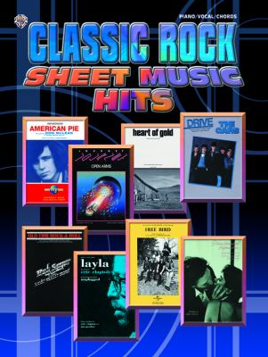 Classic Rock Sheet Music Hits