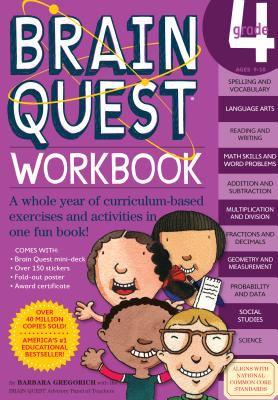 Brain Quest Workbook Grade 4