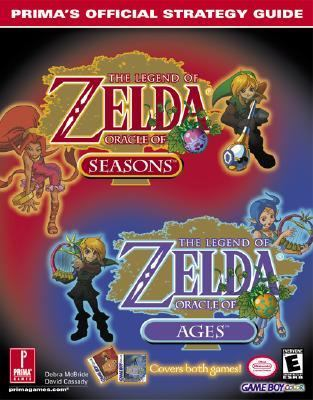 The Legend of Zelda: Oracle of Seasons & Oracle of Ages: Prima's Official Strategy Guide - Debra McBride - Paperback