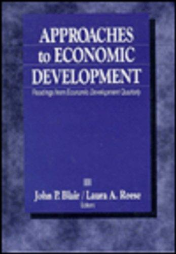 approaches to economic development A critique of sme-led approaches to economic development carlos nuno castel-branco1 may, 2003 small and medium enterprises (smes) have had a privileged treatment in the.