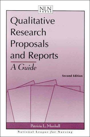 Qualitative Research Proposals and Reports: A Guide (Way Life Works Series)