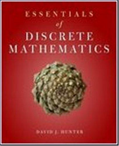 Essentials Of Discrete Mathematics (Jones and Bartlett Publishers Series in Mathematics)