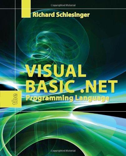 vb net programming language pdf