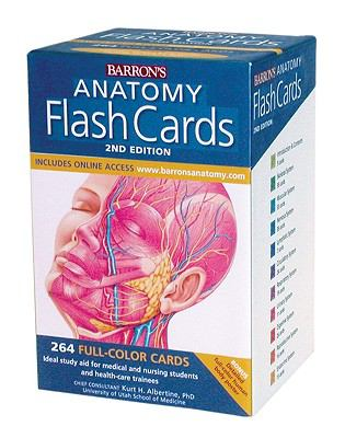 Anatomy Flash Cards, 2nd Ed.