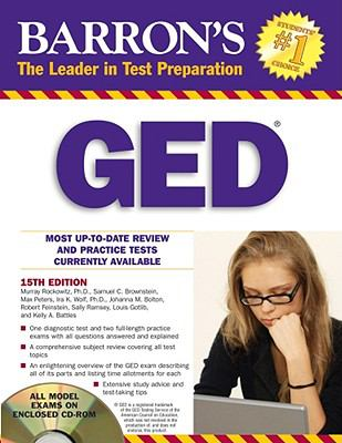 Barron's GED with CD-ROM (Barron's Ged (Book & CD-Rom))
