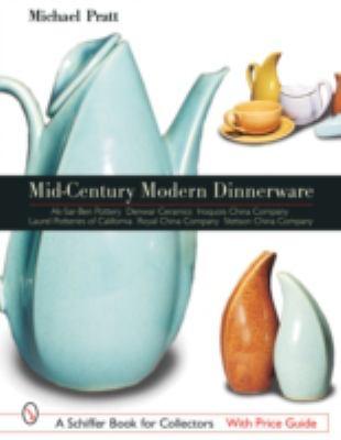 Mid-Century Modern Dinnerware Design Ak-Sar Ben Pottery - Denwar Ceramics - Iroquois China company - Laurel Potteries of California - Royal China Company - Stetson China Company