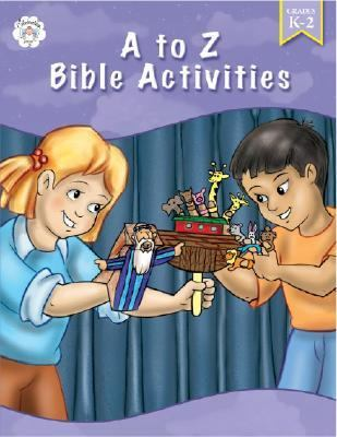 A to Z Bible Activities