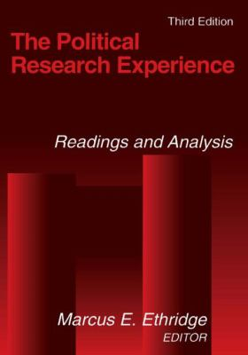 Political Research Experience Readings and Analysis