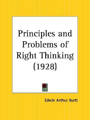 Principles and Problems of Right Thinking 1928