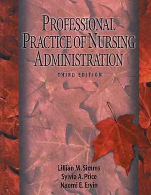 Professional Practice of Nursing Administration