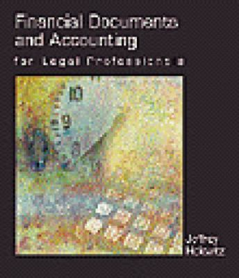 Financial Documents and Accounting in the Legal Porfessionals