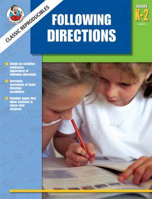 Following Directions, Grades 1-2