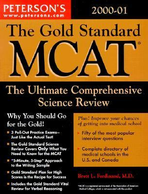Peterson's Gold Standard McAt 2000-01