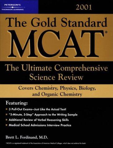 Peterson's Gold Standard McAt (Gold Standard Mcat, 3rd ed)