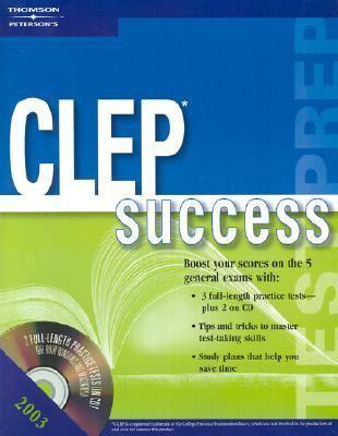 Clep Success 2003 Test Prep