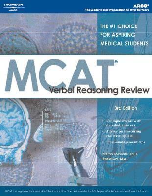 McAt Verbal Reasoning Review