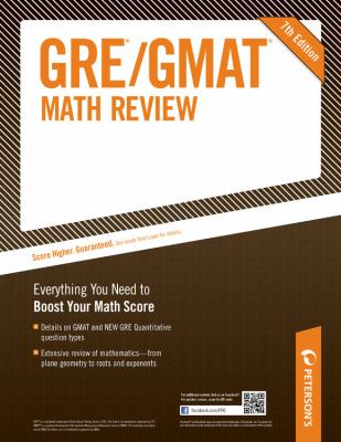 GRE/GMAT Math Review