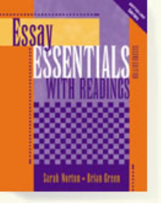 Essay essentials with readings third edition