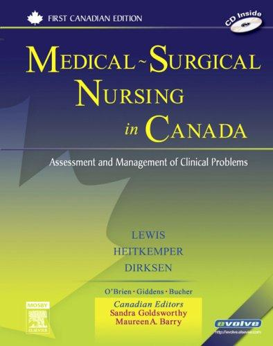 Medical-Surgical Nursing in Canada: Assessment and Management of Clinical Problems