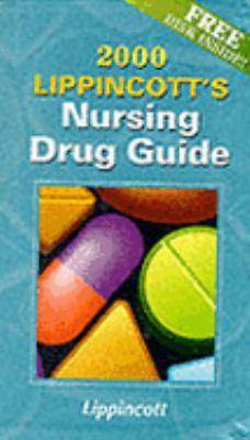 2000 Lippincott's Nurs.drug Gde-w/disk