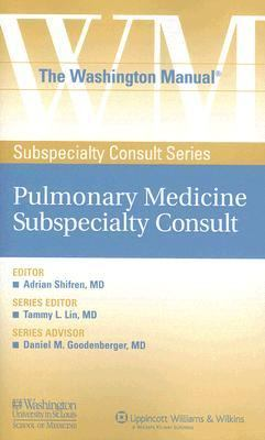 Washington Manual Pulmonary Medicine Subspecialty Consult