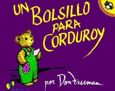 Bolsillo Para Corduroy/a Pocket for Corduroy