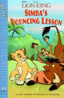 Disney First Reader: Simba's Pouncing Lessons (Level 2), Vol. 2 - Gail Tuchman