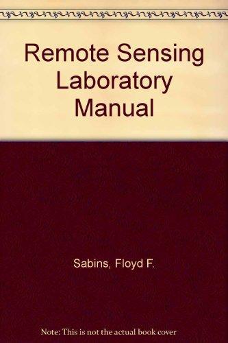 Remote Sensing Laboratory Manual