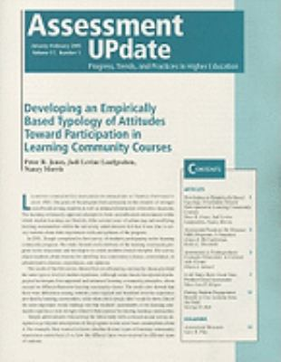 Assessment Update Progress, Trends, And Practices In Higher Education, January-February 2005