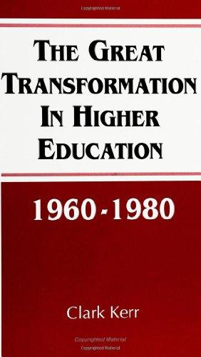 The Great Transformation in Higher Education, 1960-1980 (SUNY Series, Frontiers in Education) (Frontiers in Education Series)