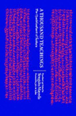 Thousand Teachings The Upadesasahasri of Sankara