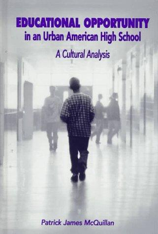Urban schools and equal opportunity on education