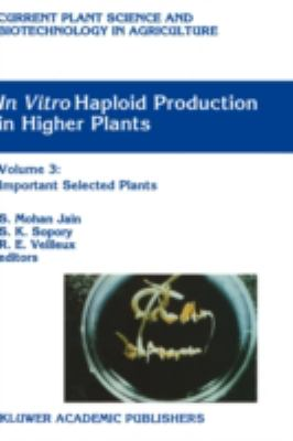 In Vitro Haploid Production in Higher Plants Important Selected Plants