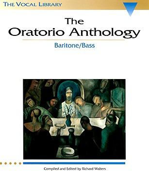 Oratorio Anthology Baritone Bass