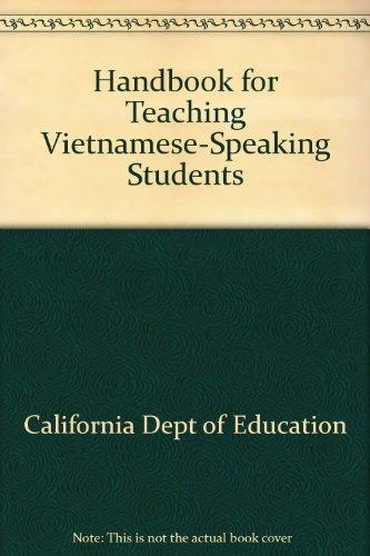 Handbook for Teaching Vietnamese-Speaking Students
