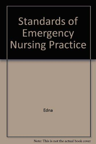 Standards of Emergency Nursing Practice