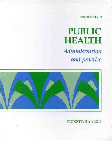 Public Health: Administration and Practice