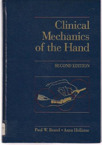 Clinical Mechanics of the Hand