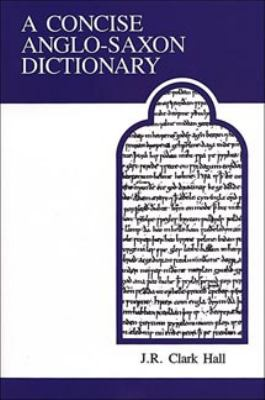 Concise Anglo-Saxon Dictionary