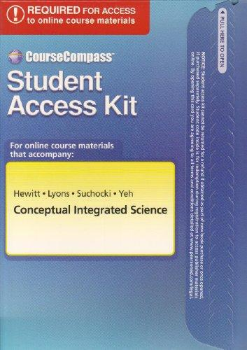 CourseCompass Student Access Kit for Conceptual Integrated Science