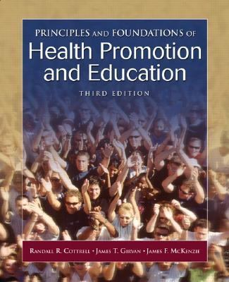 Principles & Foundations of Health Promotion and Education