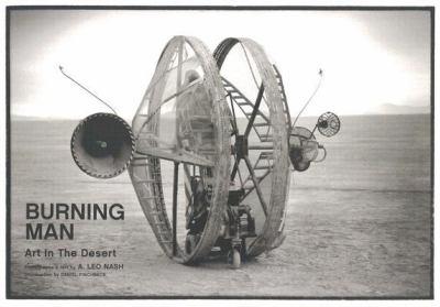 Burning Man Art in the Desert