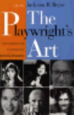 Playwright's Art Conversations With Contemporary American Dramatists