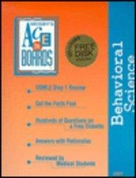 USMLE Step 1 Review, Behavioral Science: Ace The Boards Series, 1e