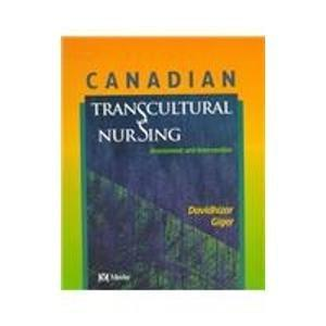Canadian Transcultural Nursing: Assessment and Intervention, 1e