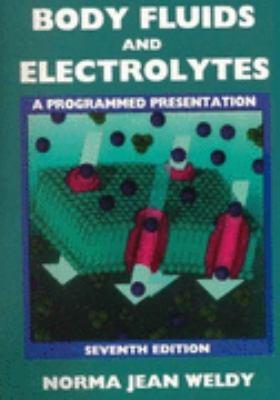 Body Fluids and Electrolytes A Programmed Presentation