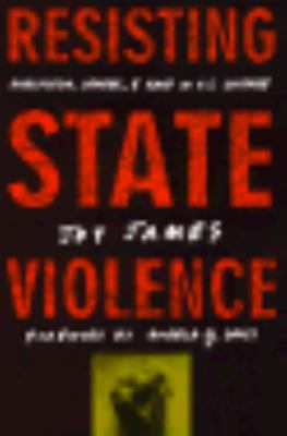 Resisting State Violence Radicalicism, Gender, and Race in U.S. Culture