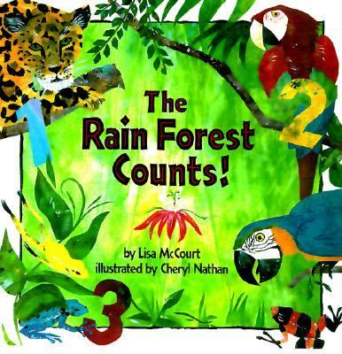 The Rain Forest Counts! - Lisa McCourt - Paperback