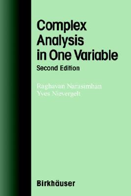 Complex Analysis in One Variable