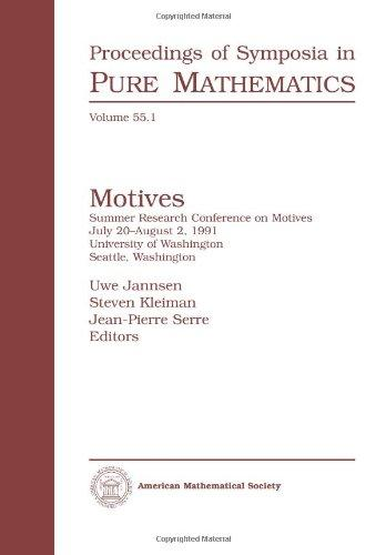 Motives (Proceedings of Symposia in Pure Mathematics) (Pt. 1)